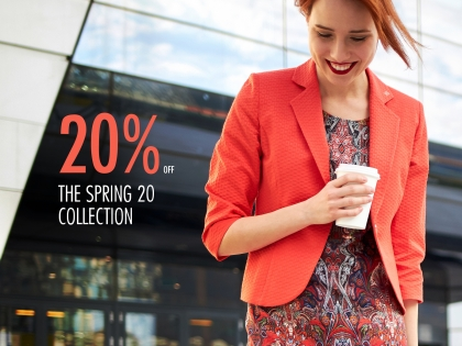 20% the Spring 20 collection