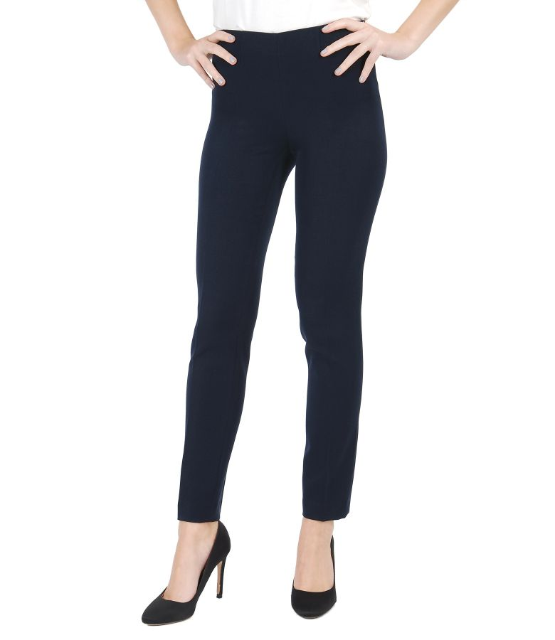 Elegant trousers from elastic fabric