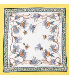 Printed veil scarf