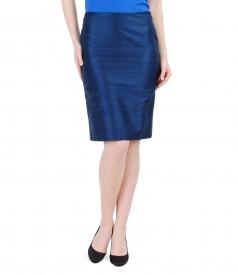Elegant skirt from silk taffeta