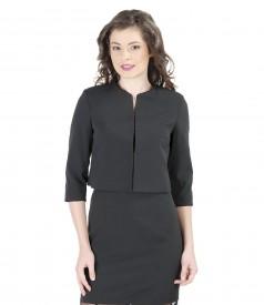 Elegant jacket with trim