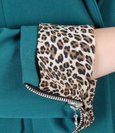 Office elastic fabric jacket
