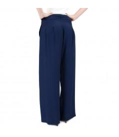 Viscose wide pants
