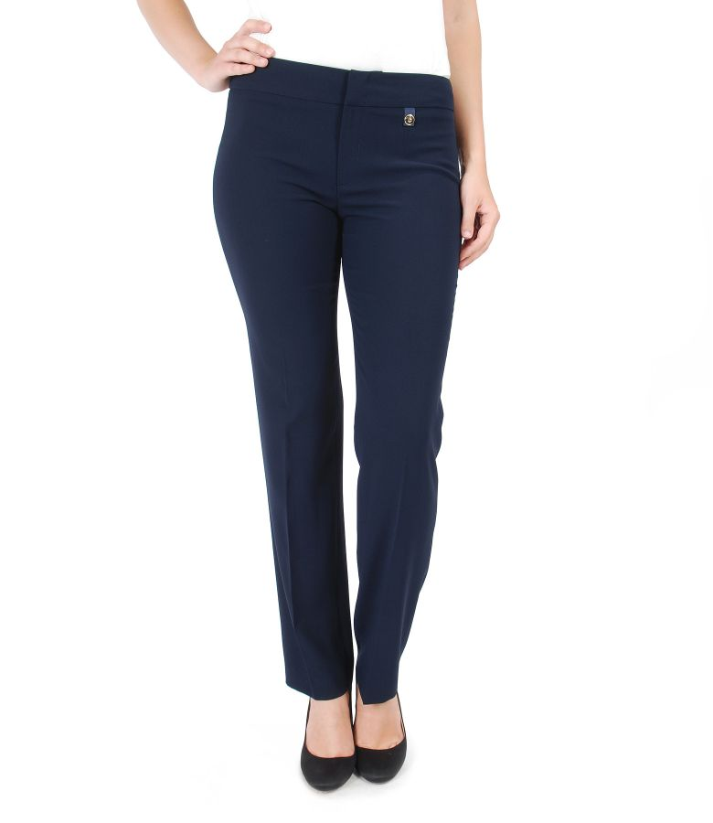 Elegant pants with stripe