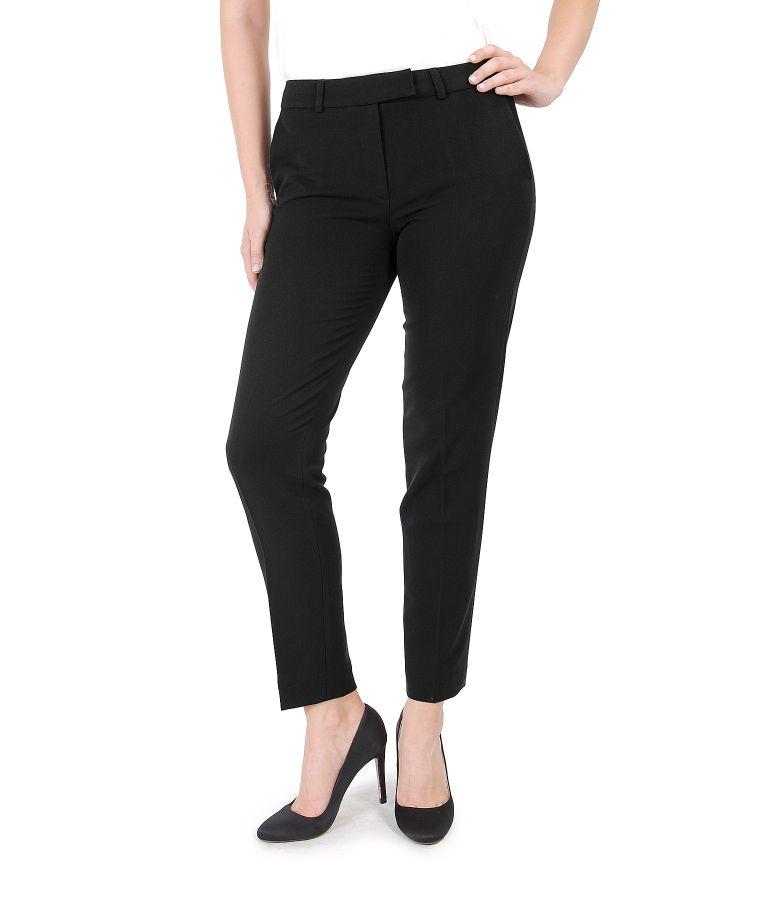 Elastic fabric pants