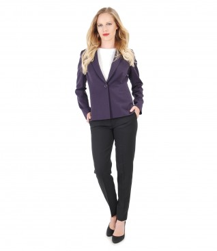 Elegant outfit with pants and jacket