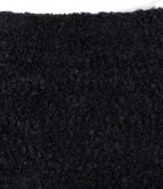Elegant skirt with wool loops