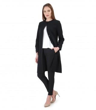 Elegant jacket with pants