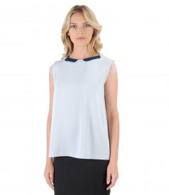 Elegant viscose blouse