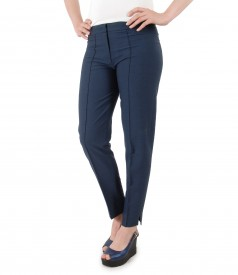 Viscose with cotton ankle pants