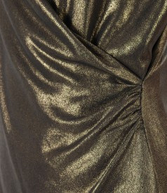 Elegant veil blouse with pearly effect
