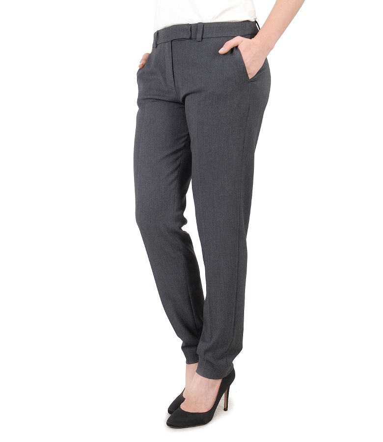 Elastic fabric pants
