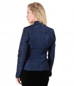Elegant jacket with floral print