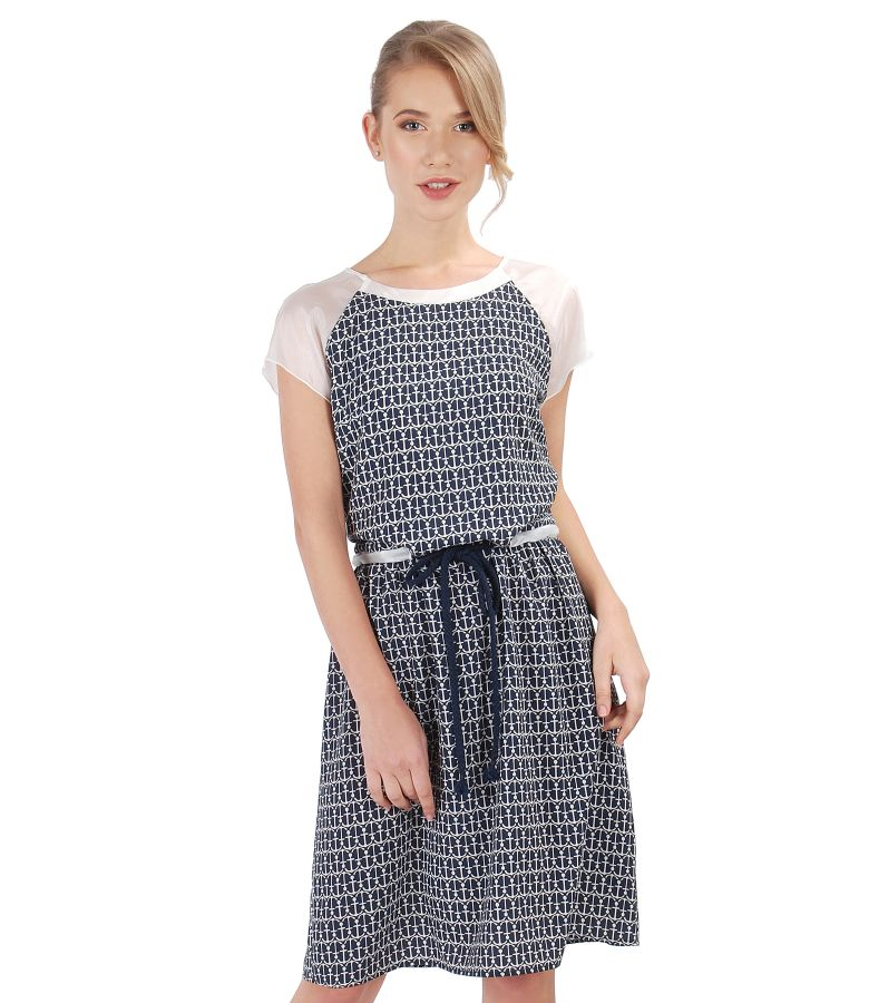 Casual dress with cord