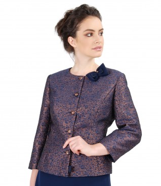 Elegant fabric jacket