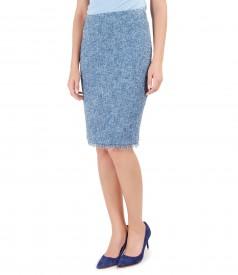 Fringe loop skirt