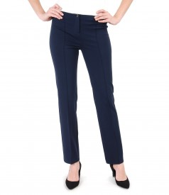Office pants made of elastic jersey