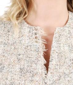 Fringe loop jacket