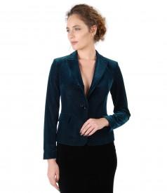 Elegant velvet jacket