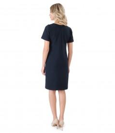 Elegant dress made of elastic fabric