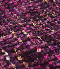 Elegant multi colored wool skirt
