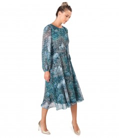 Elegant veil dress