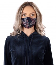 Reusable thick jersey mask