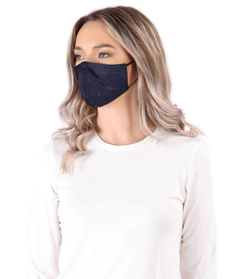 Reusable elastic jersey mask