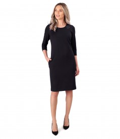 Midi dress made of soft elastic jersey
