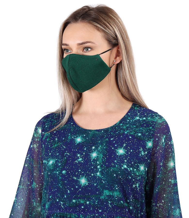 Reusable thick cotton mask
