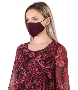 Reusable thick cotton mask