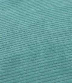 Tapered skirt made of velvet
