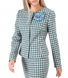Multicolored cotton jacket
