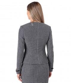 Cotton loop jacket