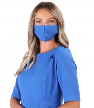 Reusable elastic fabric mask
