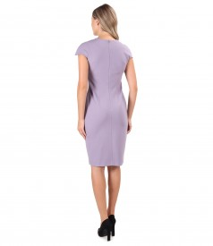 Office dress made of thick elastic jersey